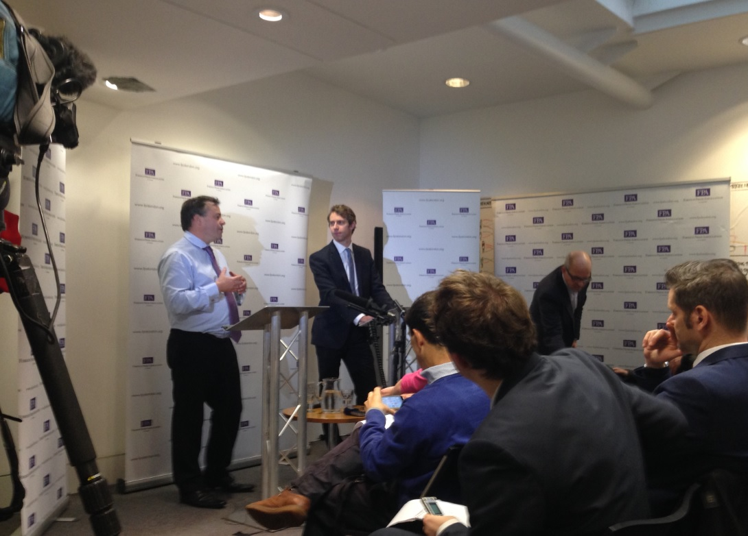 Arron Banks and Will Straw