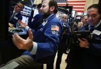 Wall Street trader