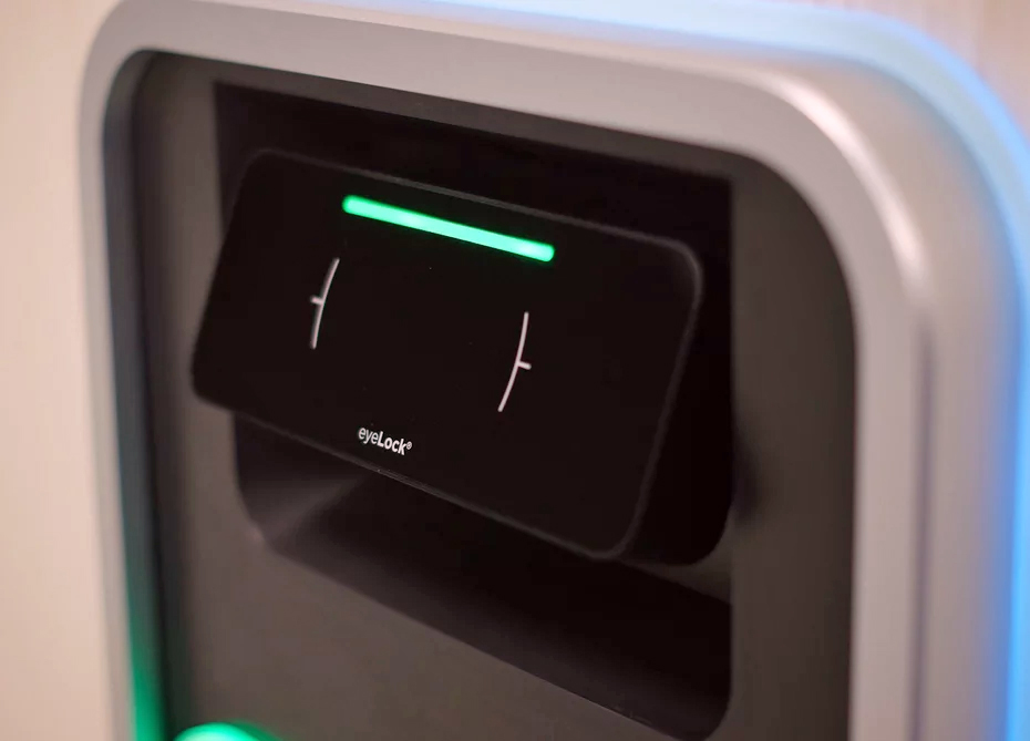 Irving ATM scans your iris for authentication