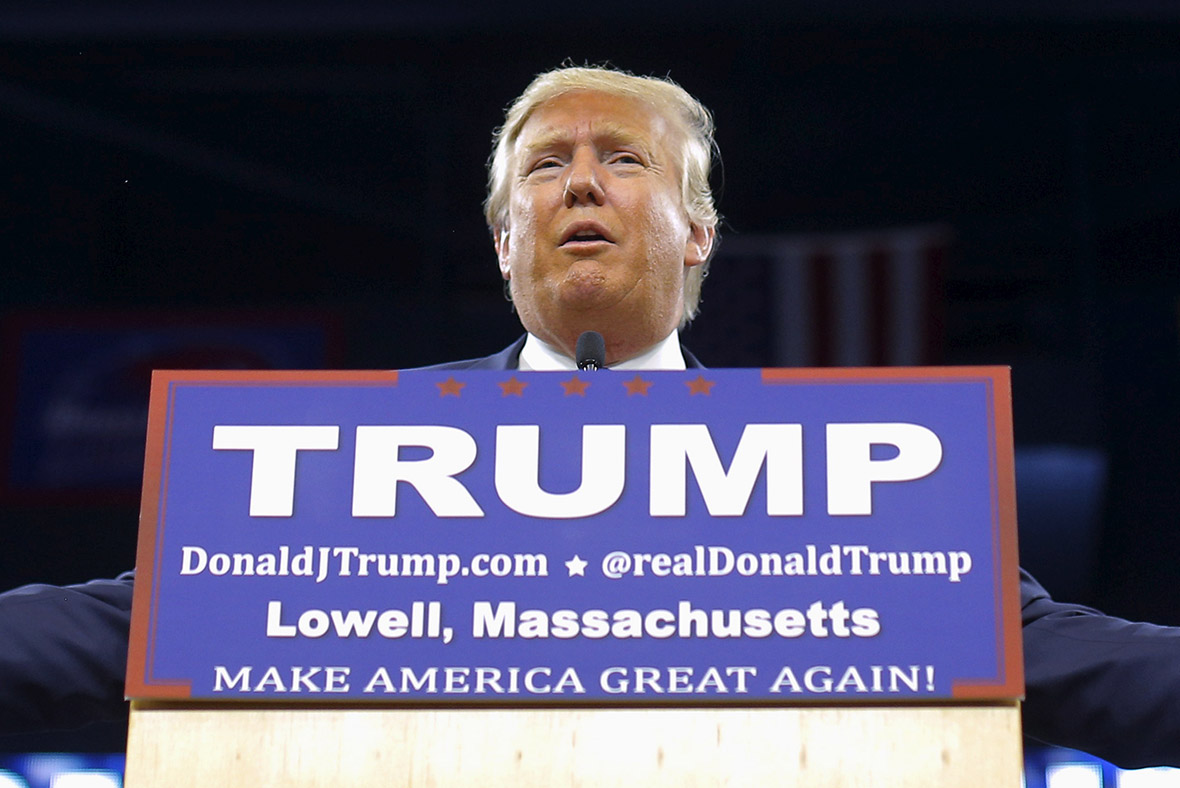 Donald Trump rally, Lowell Massachusetts