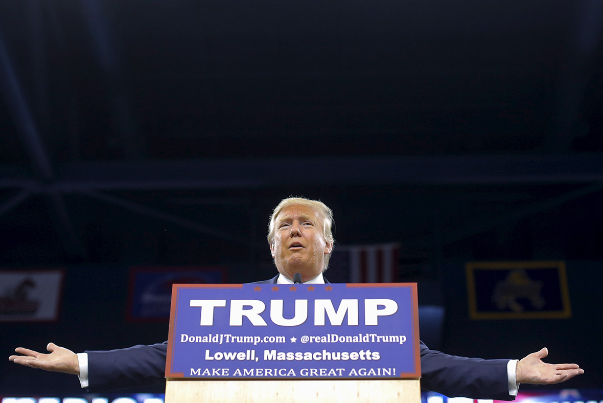 Donald Trump rally, Lowell Massachusetts