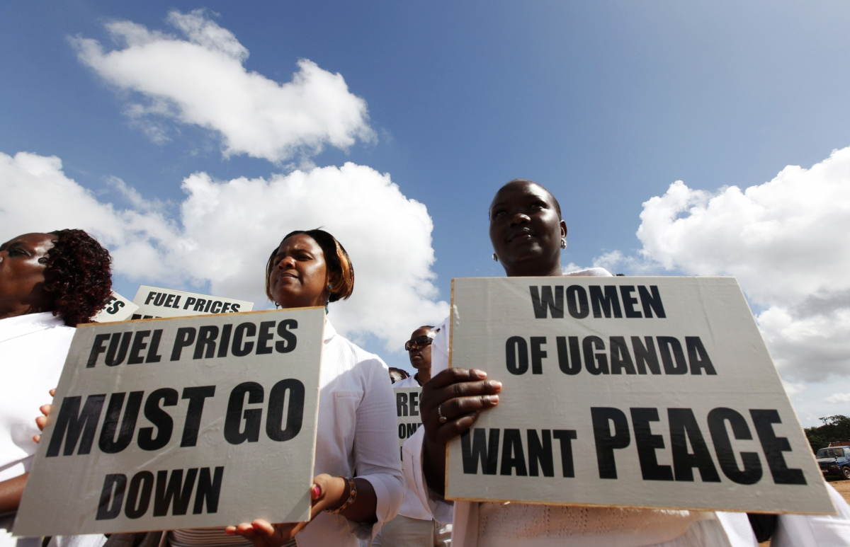 Uganda civil society and NGOs freedom