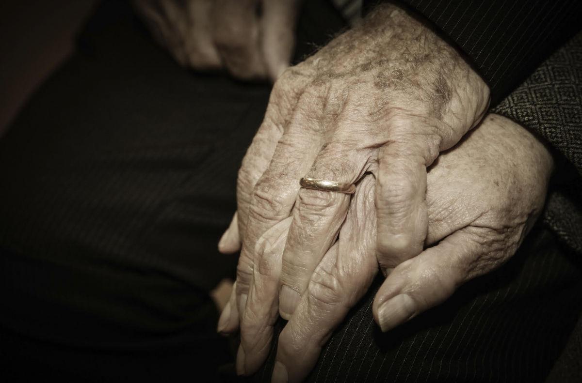 old people hands