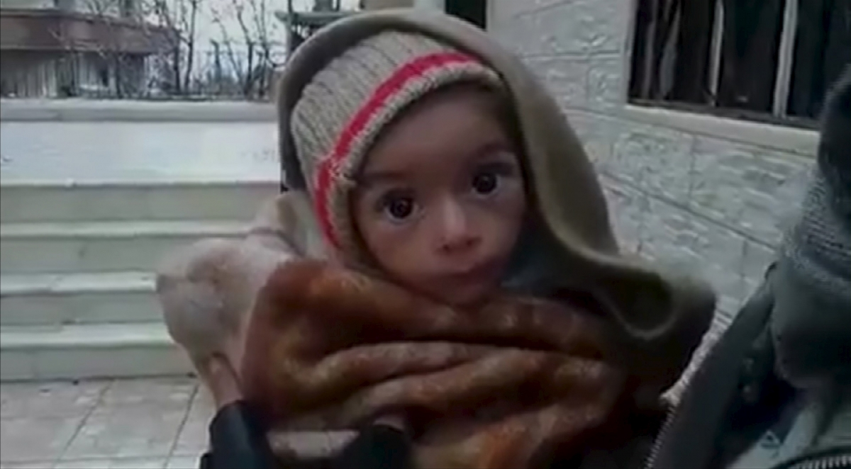 Child in Madaya
