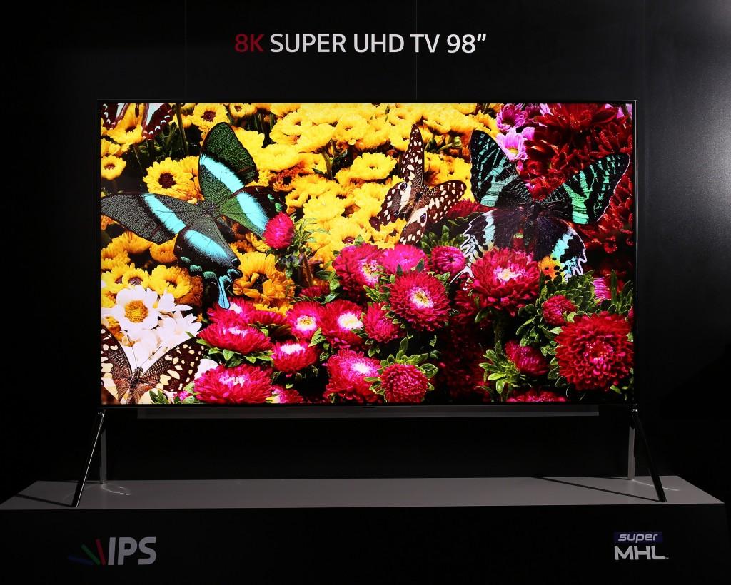 Best TVs for 2016: LG 8K