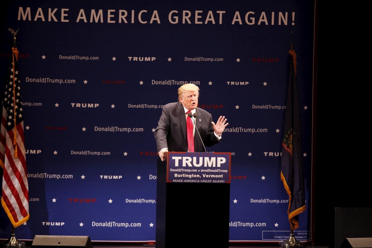 Donald Trump Vermont