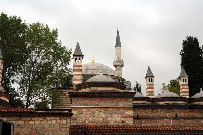 Coban Mustafa Pasha mosque in Turkey