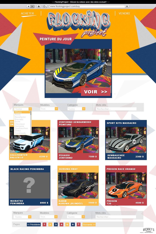 GTA 5 Online: Flocking Project