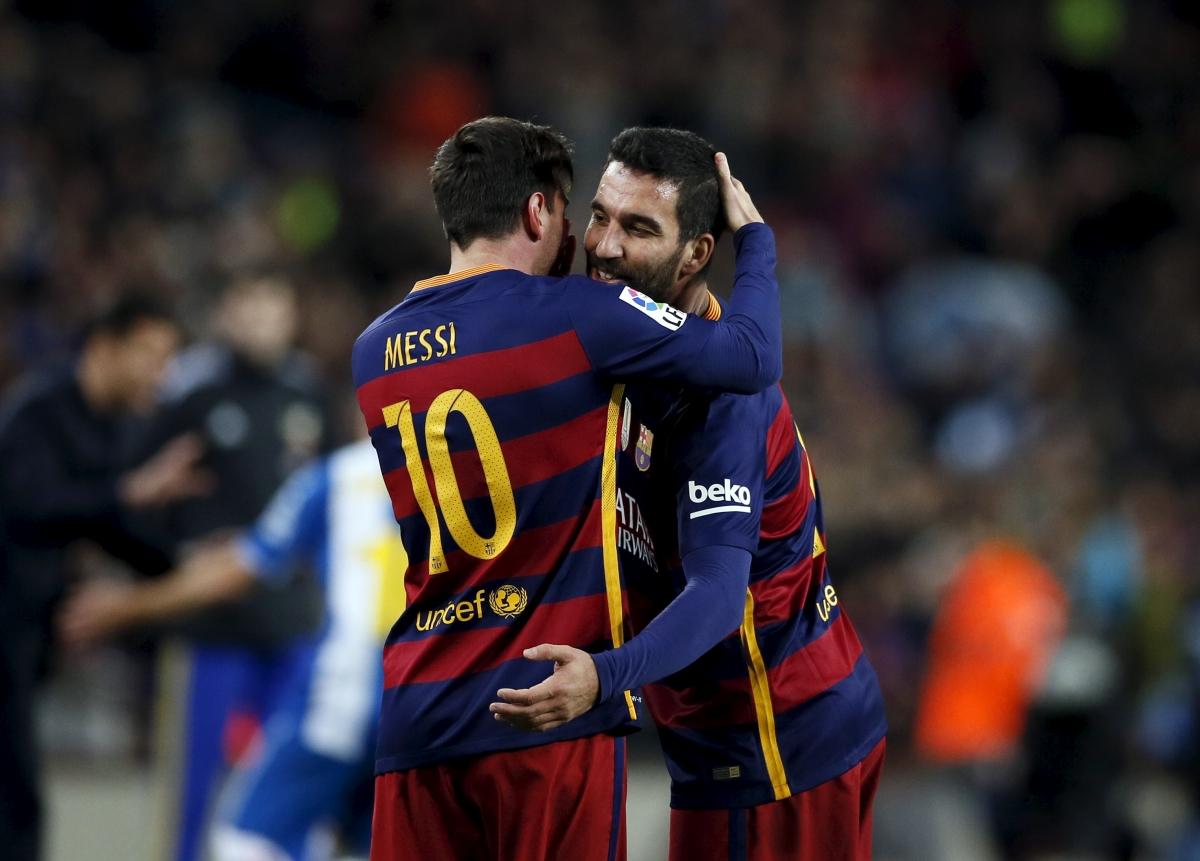 Lionel Messi & Arda Turan