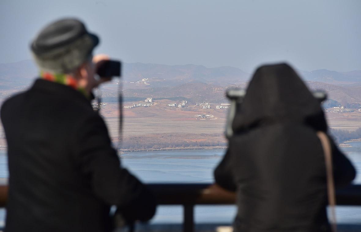 North Korea loudspeakers