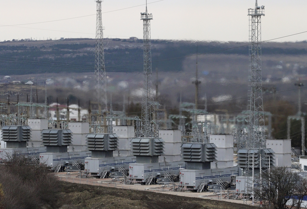 Ukraine power outage by Sandworm