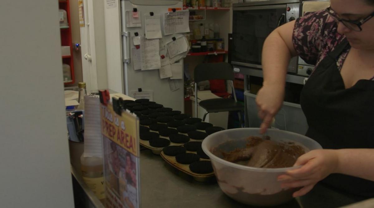 Ms Cupcake vegan bakery