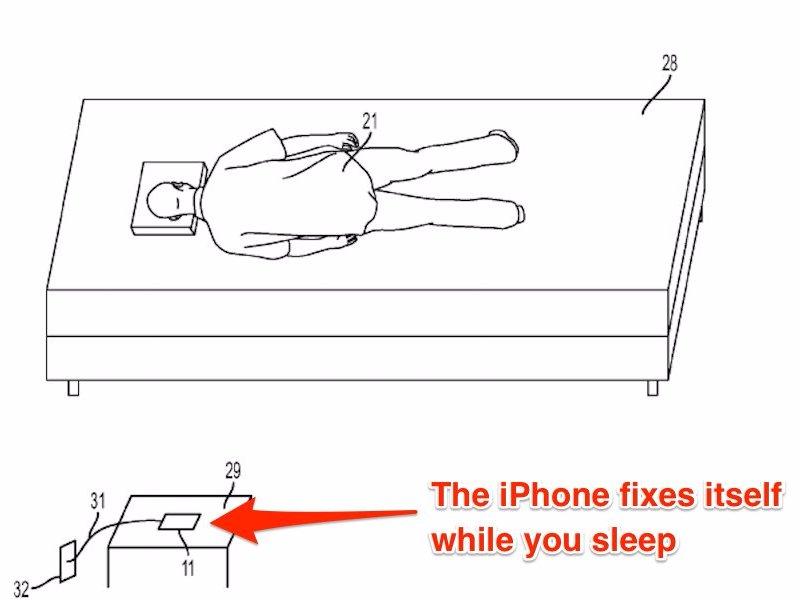 Self-healing Apple iPhone