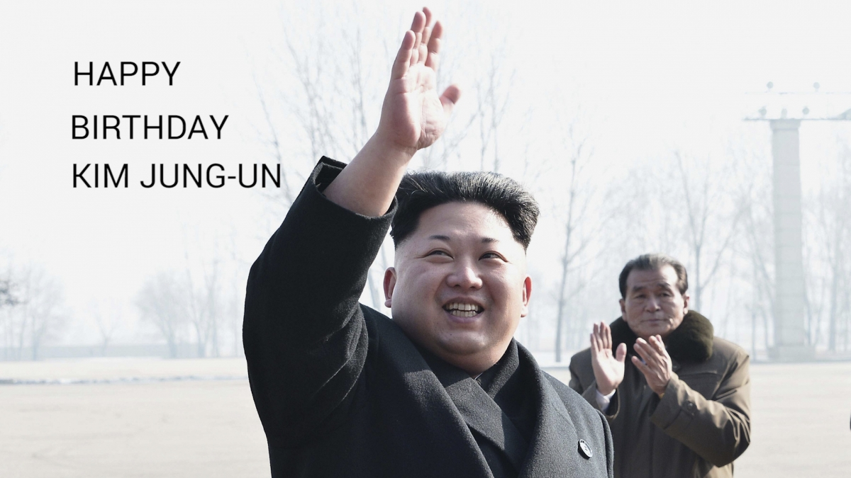 Happy Birthday Kim Jung-Un
