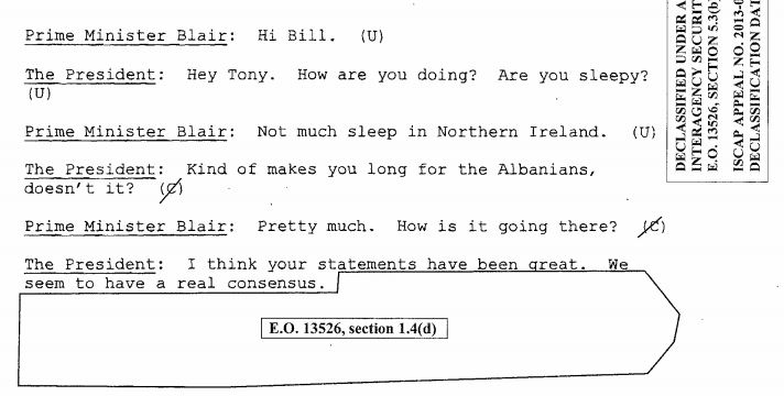 Blair Clinton transcript