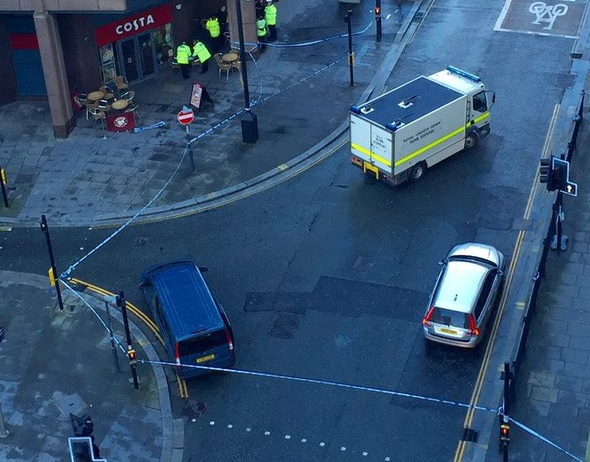 Liverpool bomb scare
