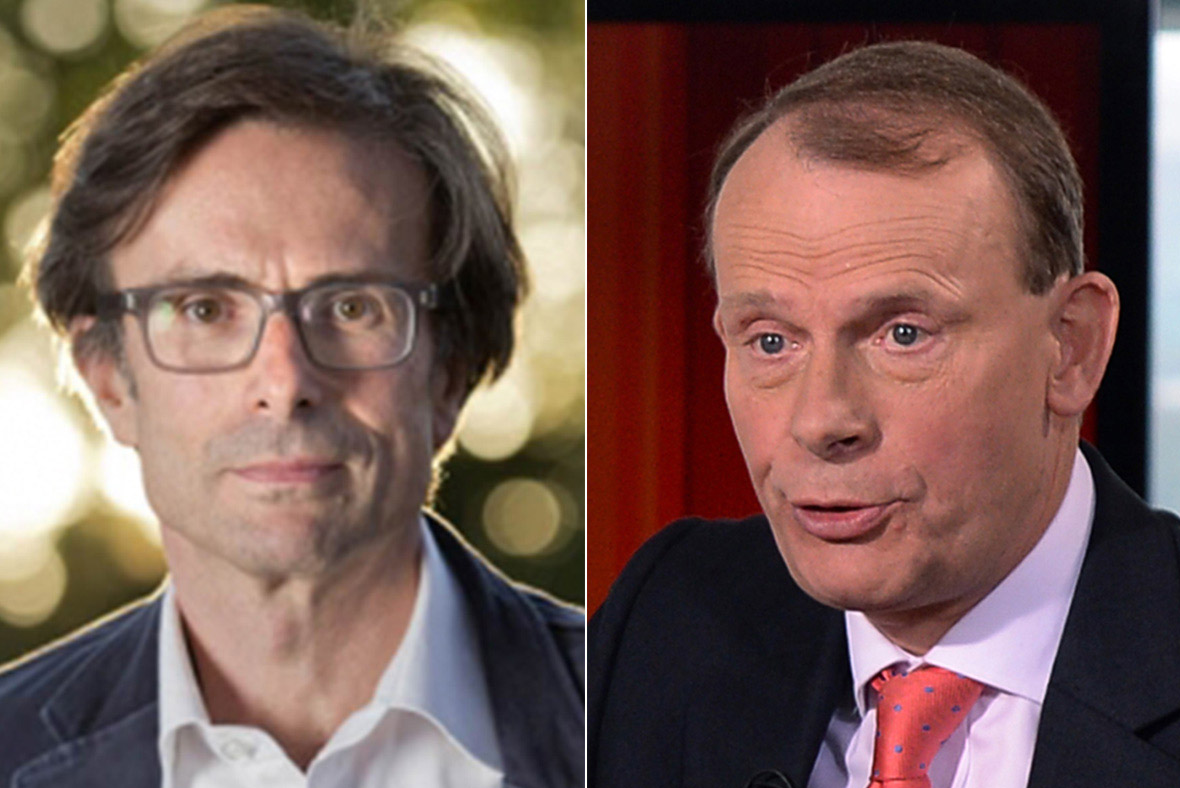 Robert Peston, Andrew Marr