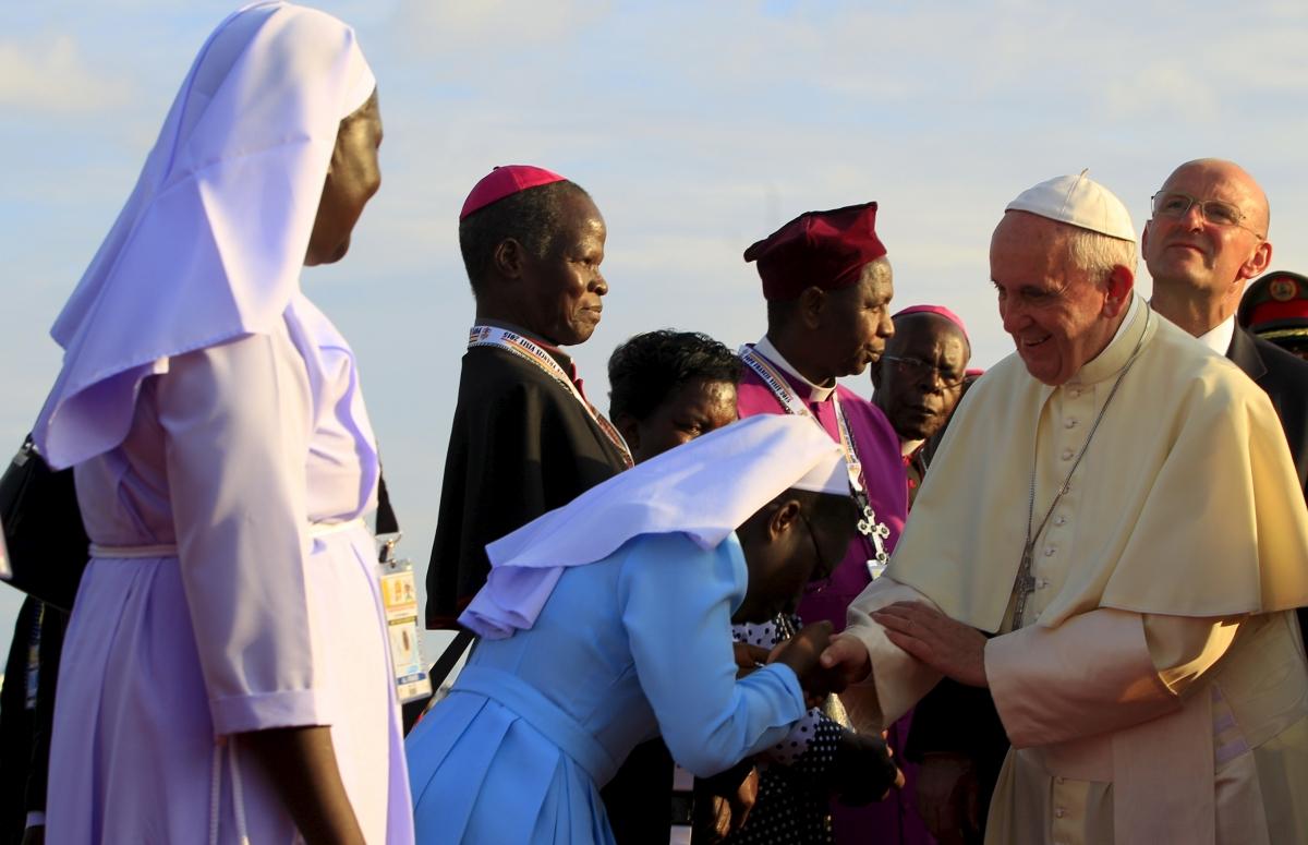 Pope Francis in Africa - Uganda