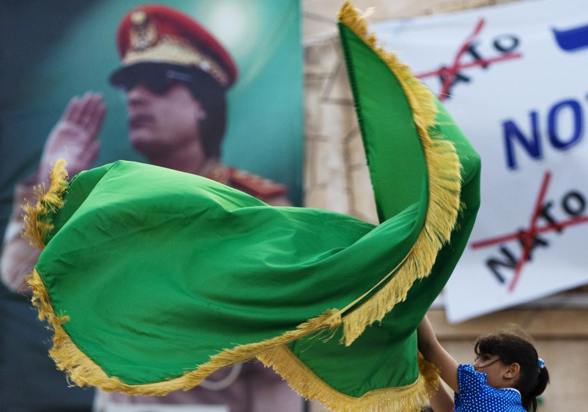 Pro-Gaddafi rally