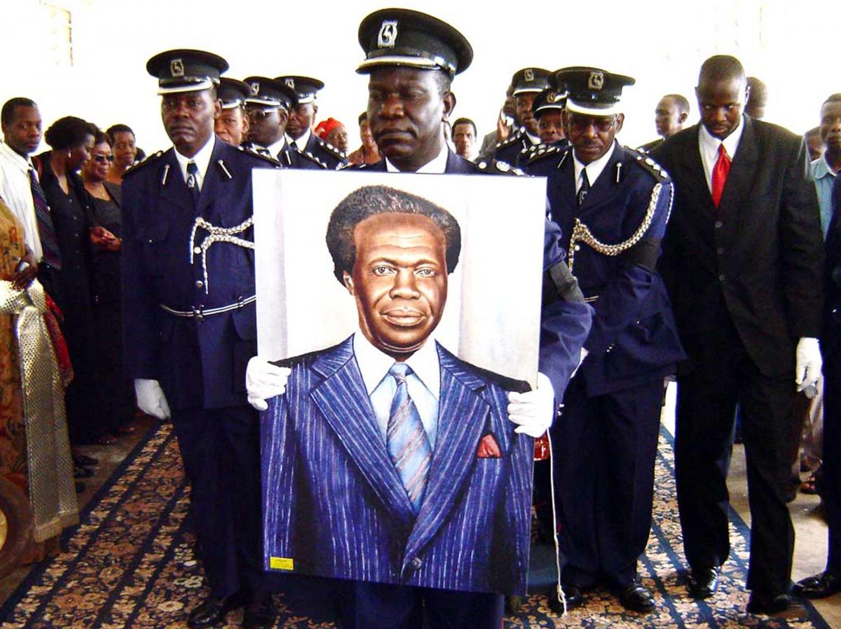 Uganda's first PM former president Milton Obote