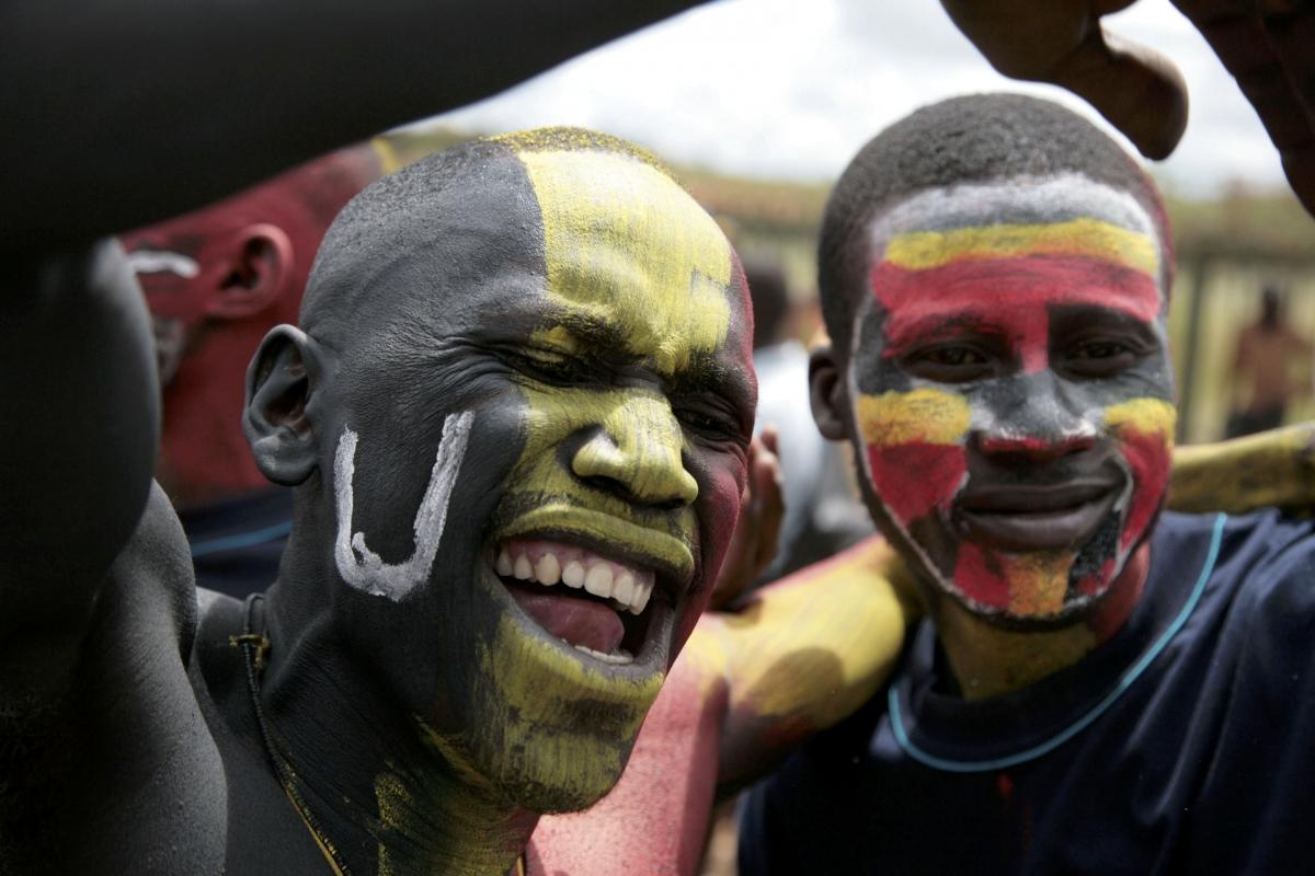 Uganda up close cover image