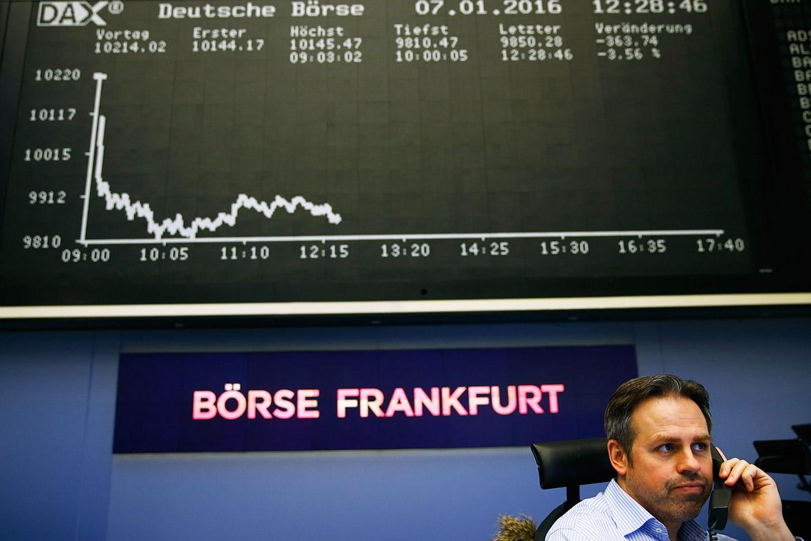European stocks jump as global markets end week on calmer note