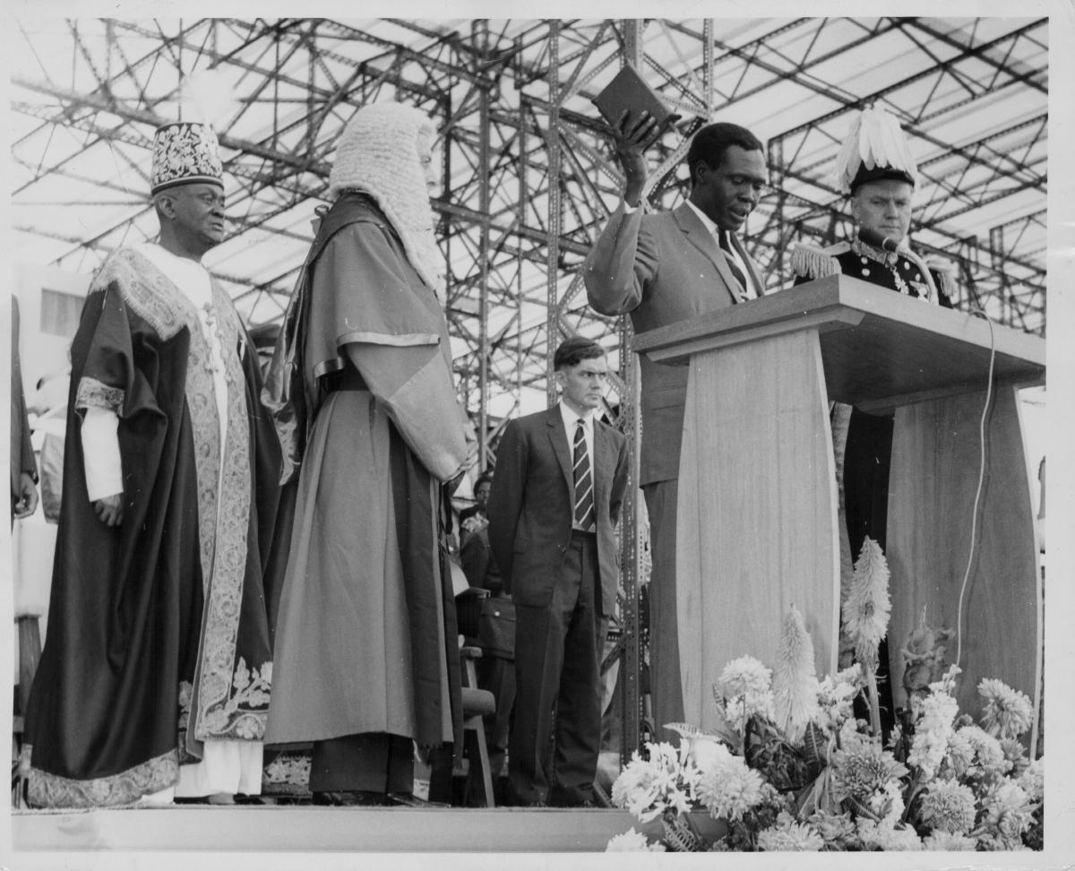 Uganda independence 1962 Milton Obote