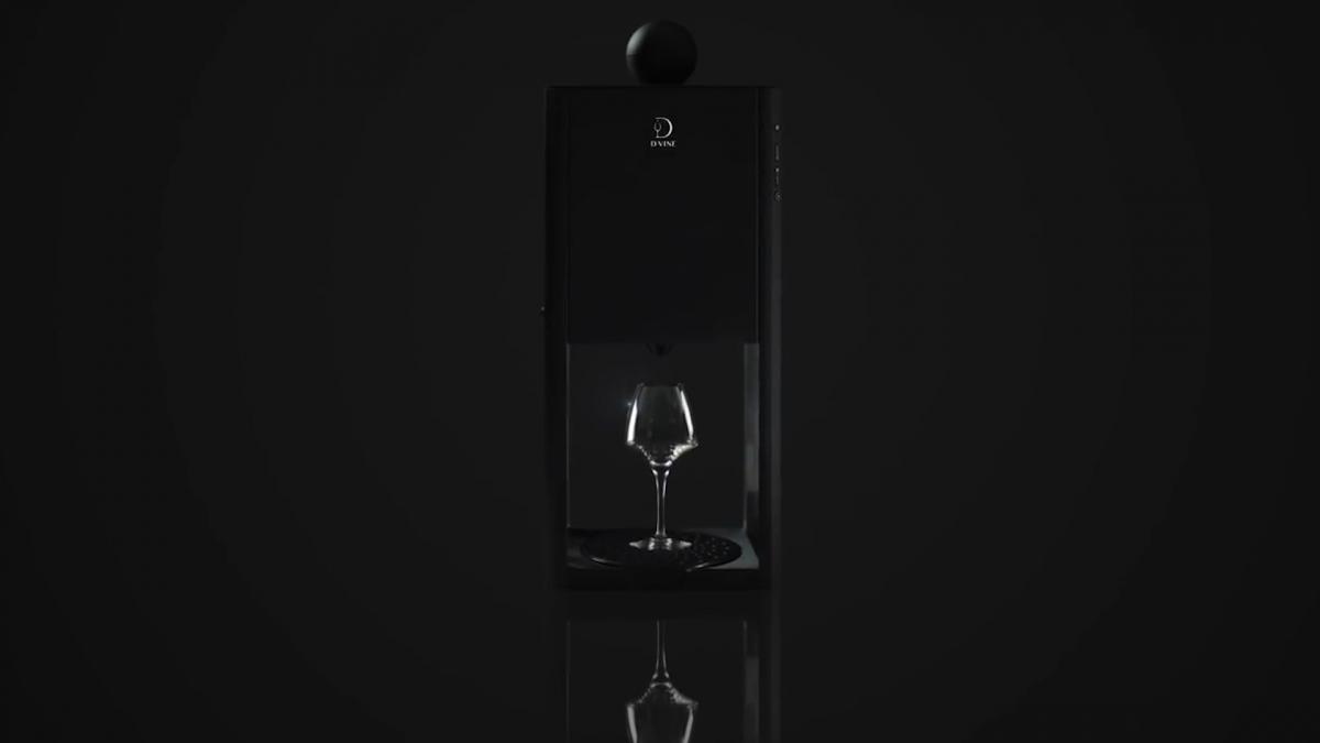 The D-Vine machine