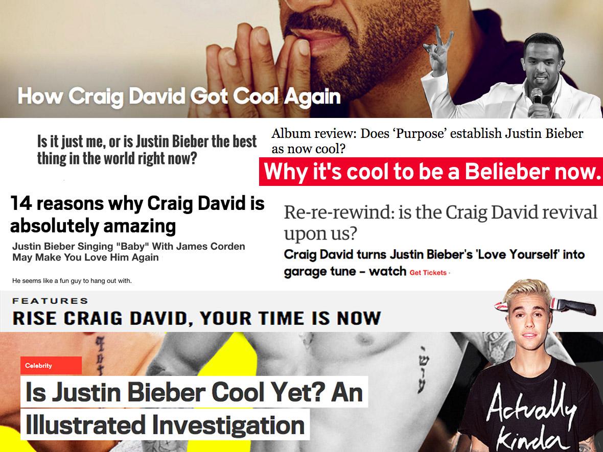 Justin Bieber Craig David