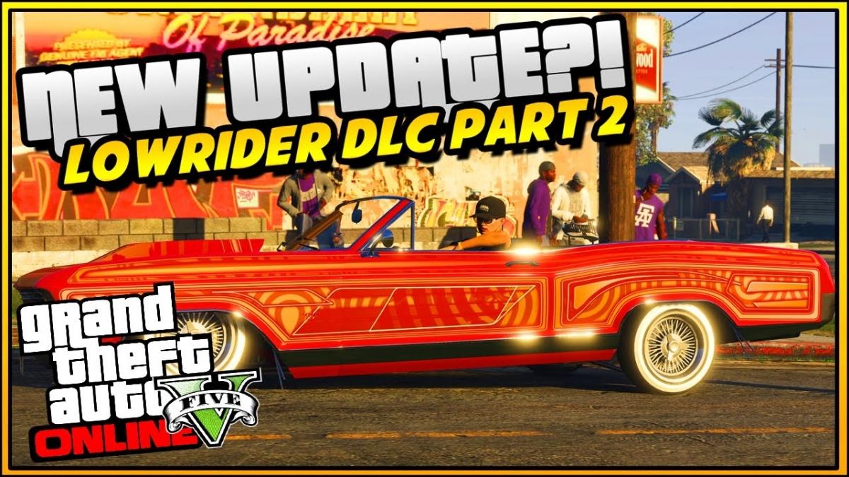 GTA Online: Lowriders DLC part 2