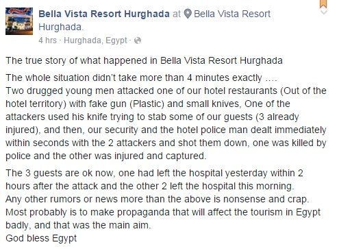 Bella Vista Hotel statement