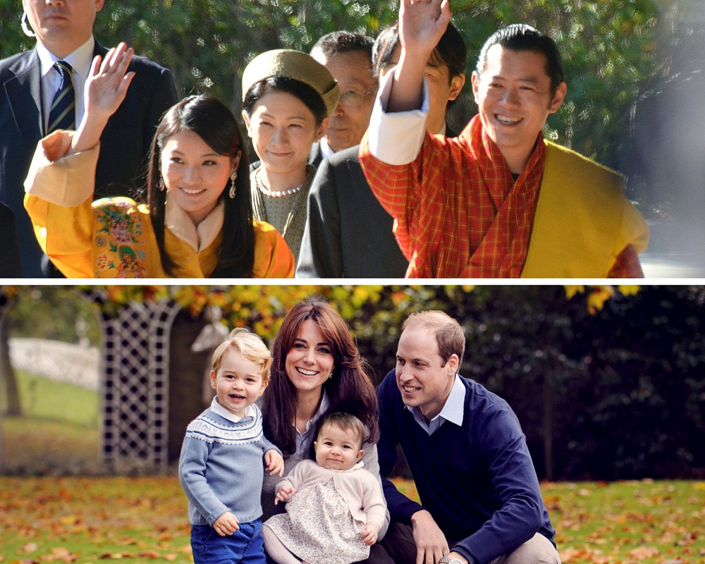 Bhutan wills and kate
