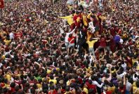 The annual procession of Black Nazarene