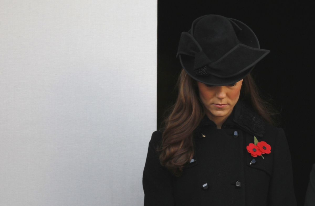 Kate Middleton remembrance sunday