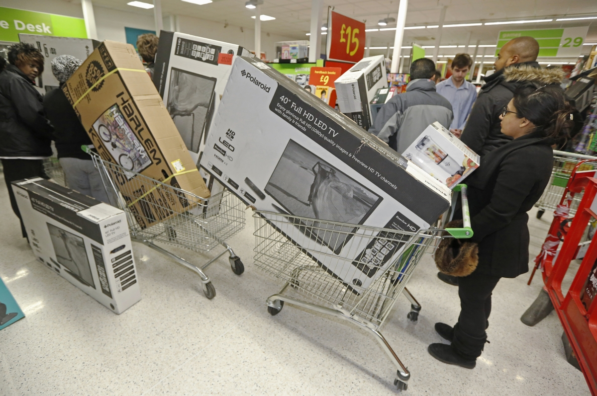Tesco, Sainsbury's, Morrisons and Asda to report a slide in Christmas sales