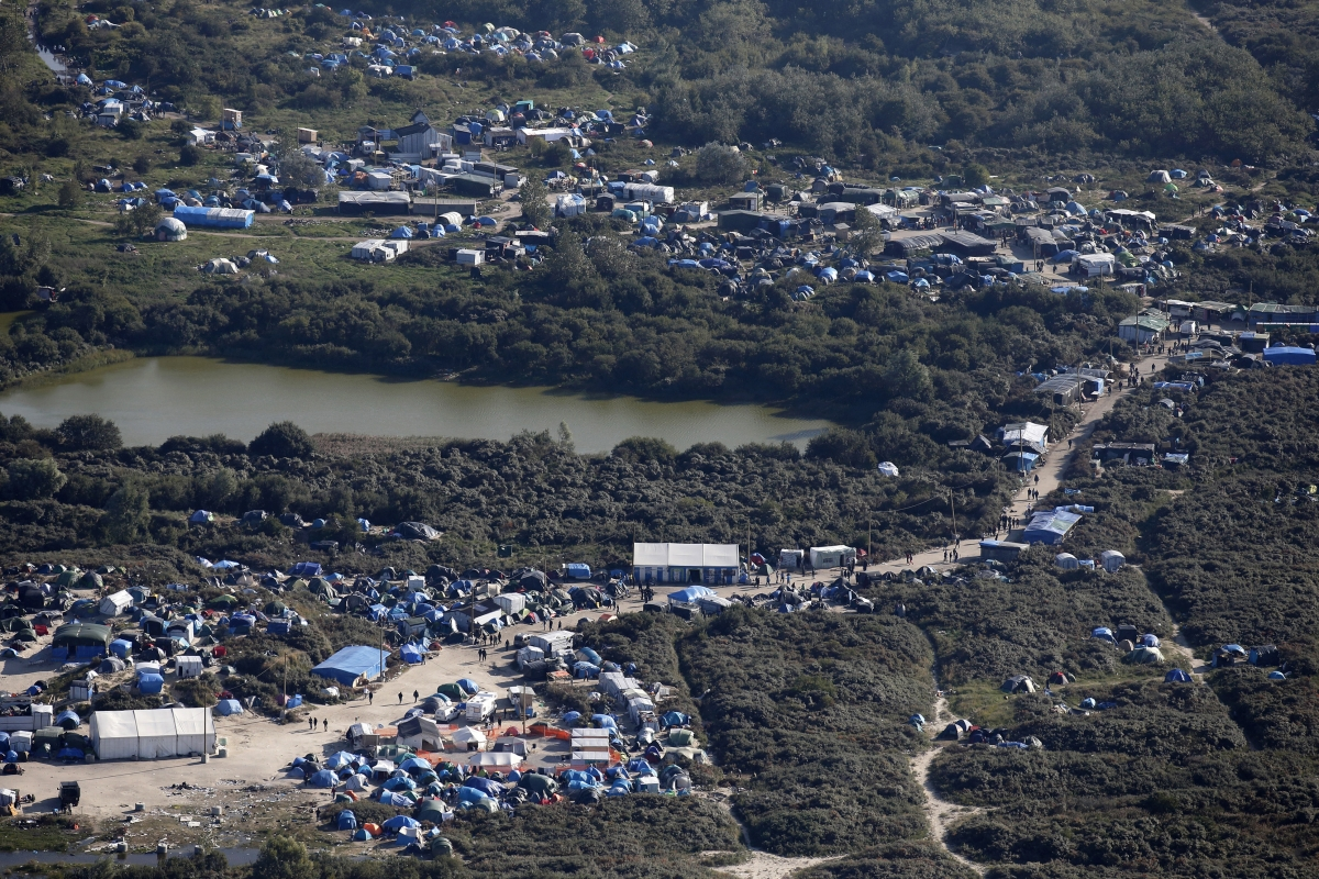 Migrant camp, Calais