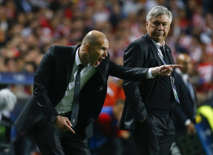 Zinedine Zidane & Rafael Benitez