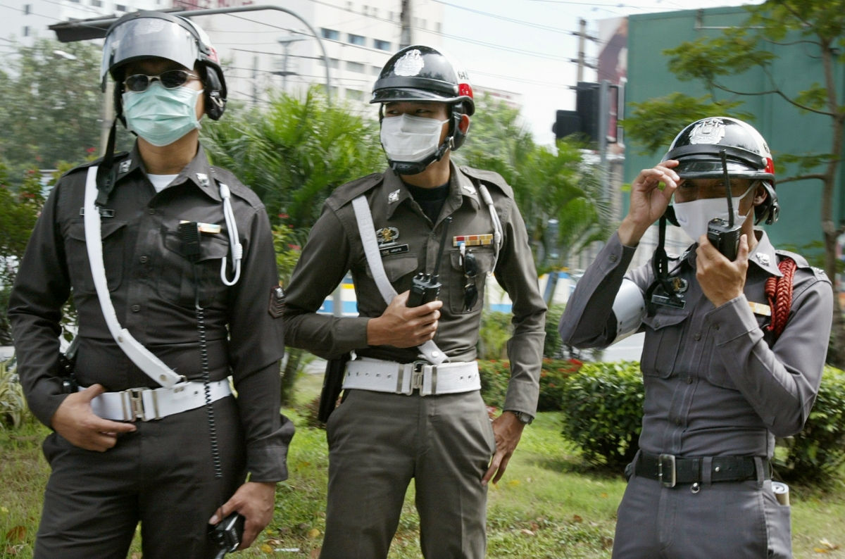 Thailand traffic police