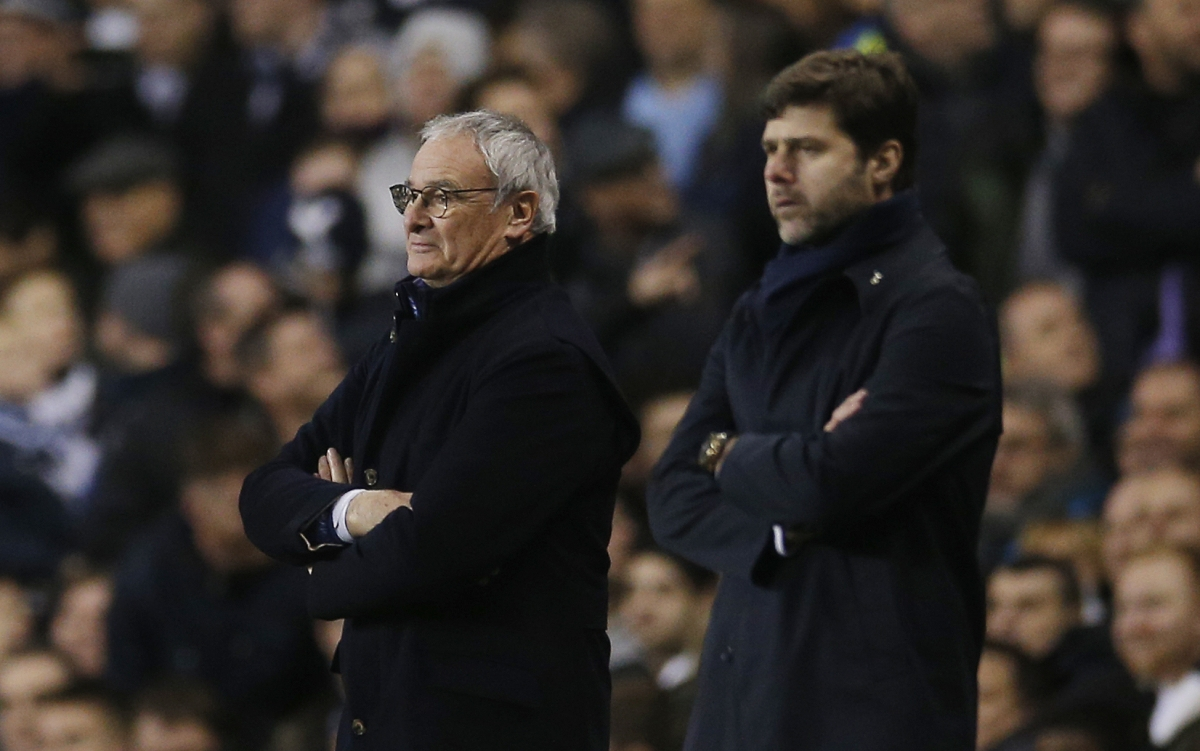 Mauricio Pochettino and Claudio Ranieri