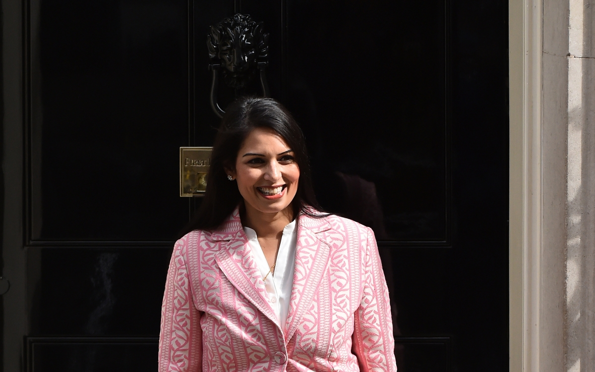UK employment minister Priti Patel