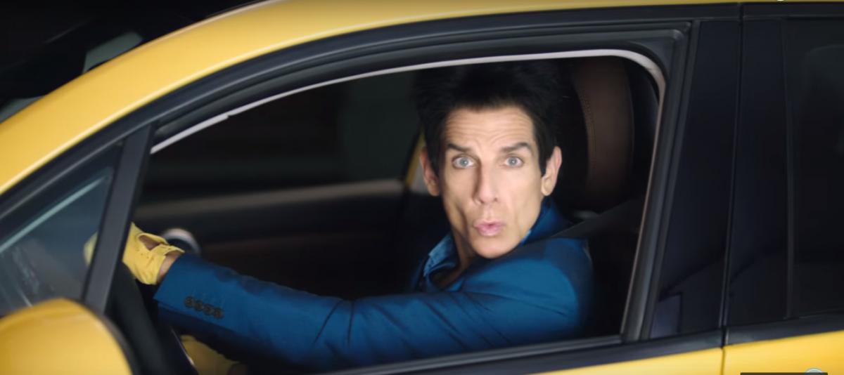 Zoolander car ad