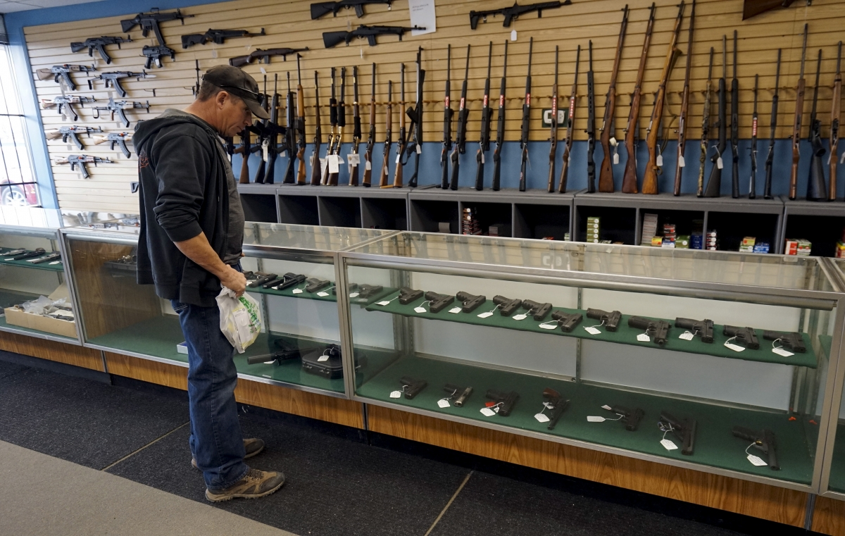 U.S gun sales surge following President Obama's promise to tighten gun controls