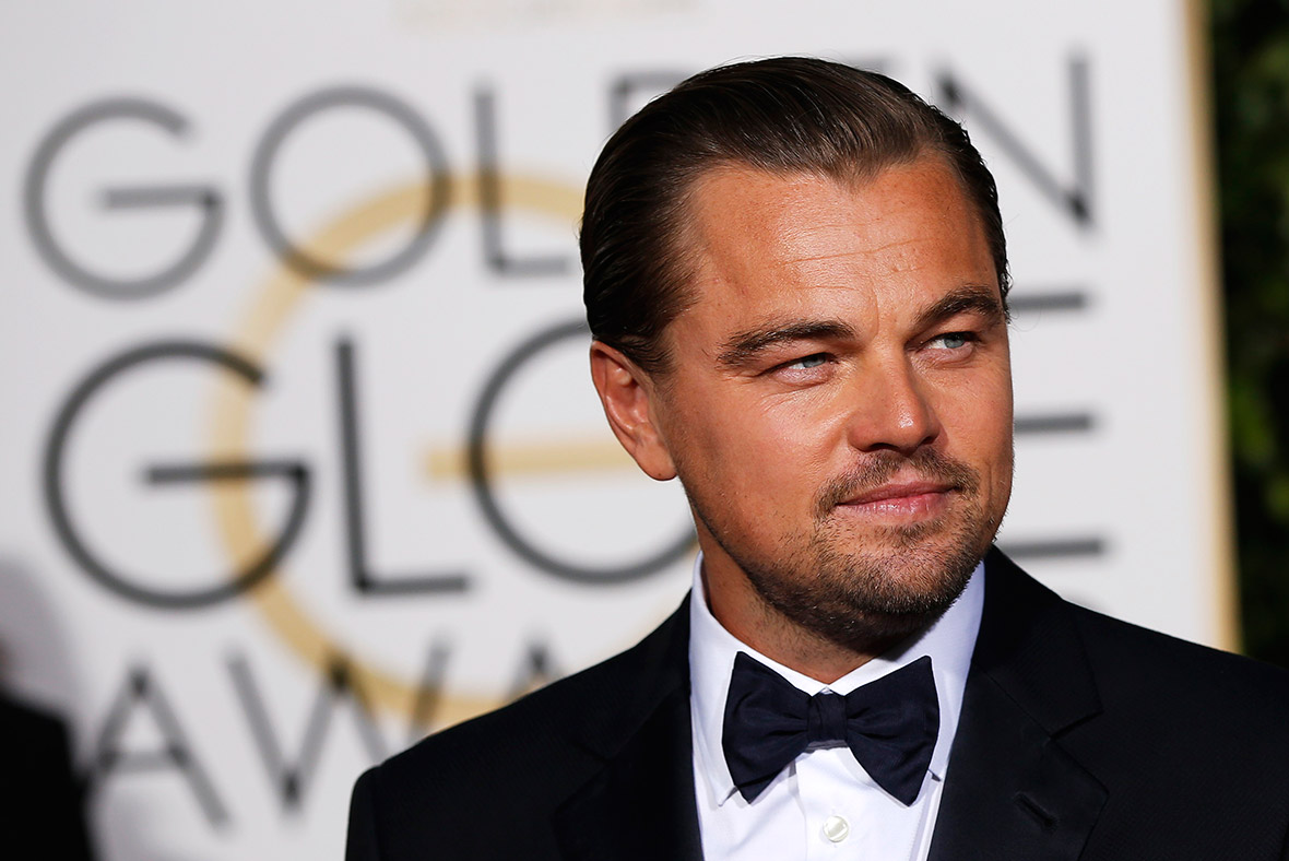 leonardo dicaprio attends the 2016 golden globes