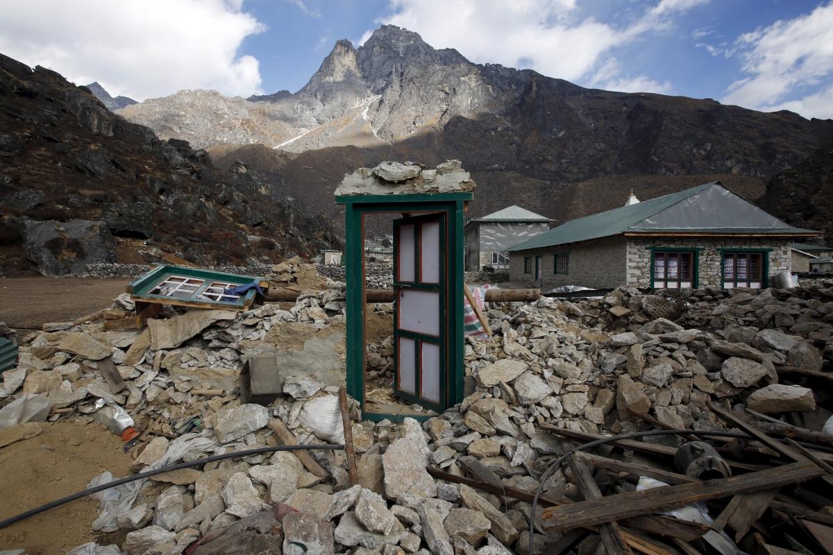 Nepal earthquake damage