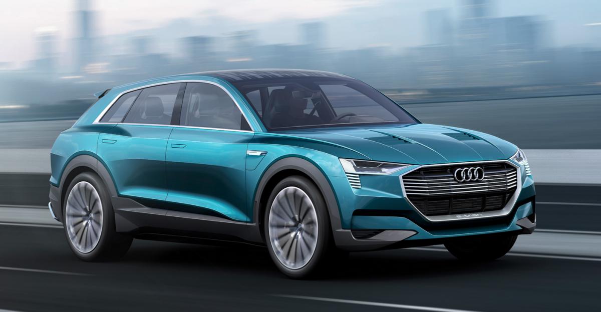 Audi future motoring e-tron