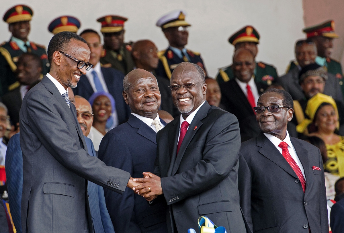 Tanzania newly elected president John Magufuli