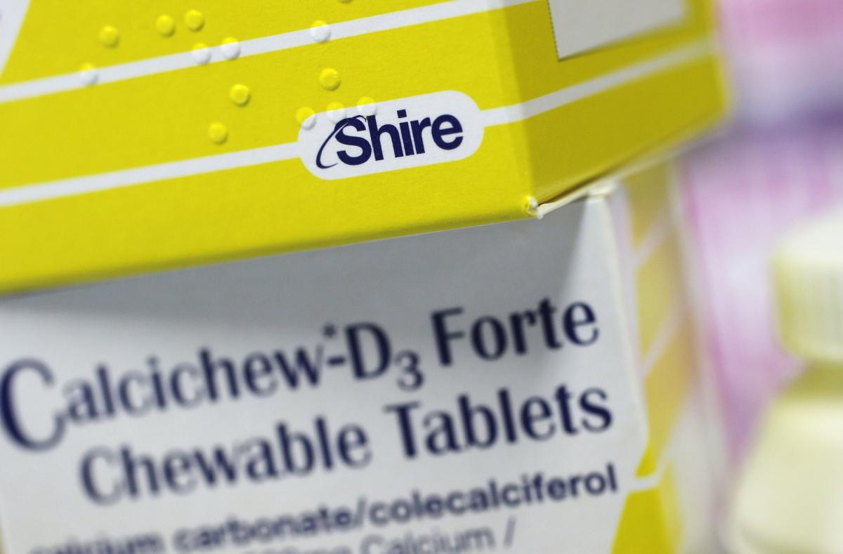 Shire vitamins