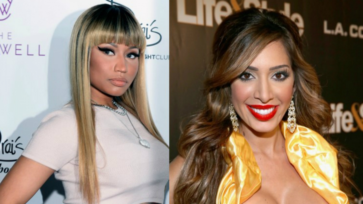 Nicki Minaj and Farrah Abraham