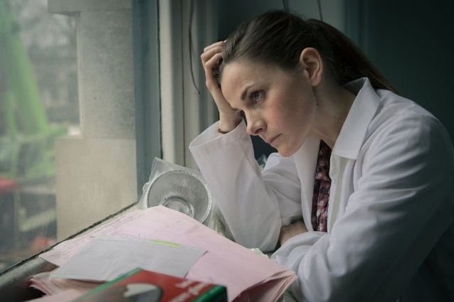 Louise Brealey as Molly Hooper in Sherlock