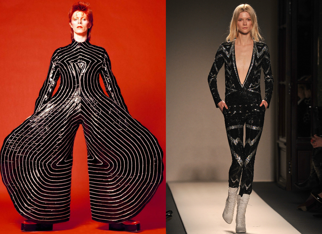 David bowie dead, fashion icon